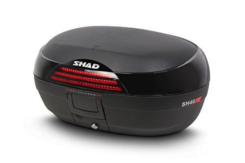 SHAD D0B46200 Baul Moto SH46, Negro, 84