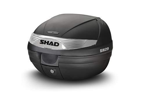 Shad D0B29100 Baul, Negro, 30 cm Alto x 40 cm Ancho x 38 cm Profundo