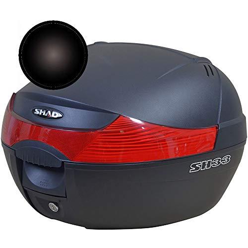 Shad D1B33E221 Sobretapa para Baul Sh33, Negro