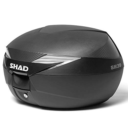 Shad D0B39106 Baul Moto SH39 Carbono